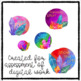 Digital Stickers for Assessment with Crystals