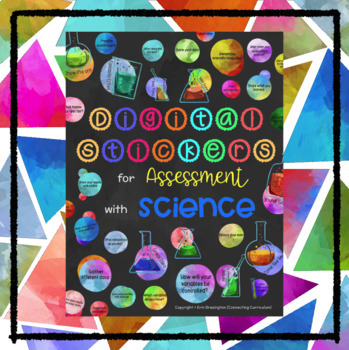 Digital Stickers for Assessment with Science