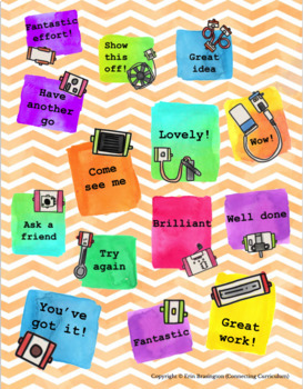 Digital Stickers for Assessment with littleBits