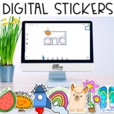 Digital Stickers for Distance Learning