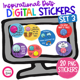 Kindness Digital Stickers Set 3 for Distance Learning