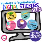 Digital Stickers Kindness Set 2 | Google Slides | Google C