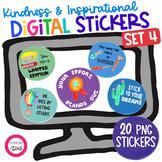 Digital Stickers Kindness Set 4 | Google Slides | Google C