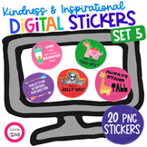 Digital Stickers Motivational Set 5 Distance Learning | Se