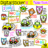 Digital Stickers for Distance Learning (Motivational Stick