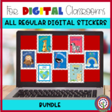 Digital Sticker Bundle for SeeSaw and Google Classoom Dist