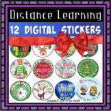 Digital Stickers for Secondary   Christmas   Hanukkah   Kwanzaa
