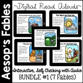 Digital Stories- Aesop's Fables BUNDLE ONE (Boom Cards)