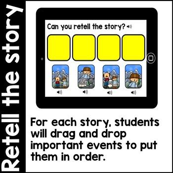 Digital Stories- Aesop's Fables BUNDLE TWO (Boom Cards)