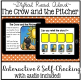 Digital Stories - Aesop's Fables The Crow and the Pitcher