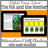 Digital Stories Aesop's Fables The Fox and the Rooster (Boom Cards)