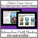 Digital Stories Aesop's Fables Town Mouse & Country Mouse (Boom Cards)