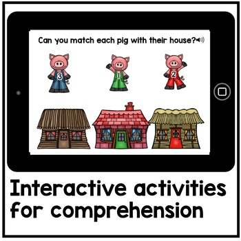 Digital Stories - The Three Little Pigs (Digital Read Aloud)