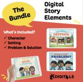 Digital Story Elements Bundle | Google Slides™ & Seesaw™