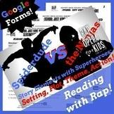 Digital Story Elements Google Classroom Reading Comprehens