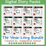 Digital Story Packs for Special Education Growing Bundle
