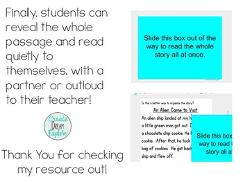 Digital Story Sequencing Activities for Google Drive