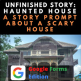 Digital Story Starter Creative Writing Prompt: Scary House