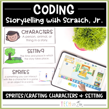 Digital Storytelling with Scratch Coding Characters and Setting