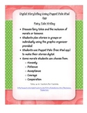 Digital Storytelling with iPad App Puppet Pals Fairy Tale Writing