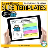 Digital Storytime Google Slides l 12 Read Aloud Templates
