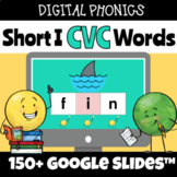 Digital Structured Phonics Short I CVC Words Reading & Spe