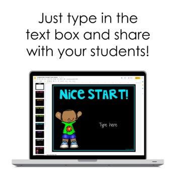 Student Feedback Notes {Digital Templates}