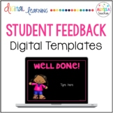 Student Feedback Notes {Digital Templates}