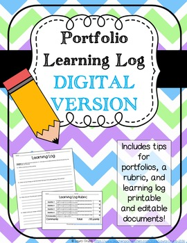 Digital Student Portfolio Learning Log