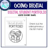Digital Student Portfolio (with Google Slides)