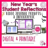 DIGITAL NEW YEAR STUDENT REFLECTION- VIDEO JOURNAL PROMPTS