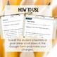 Digital Student Self Evaluation Writing Survey