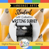 Digital Student Self Evaluation Writing Survey