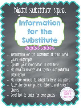 Digital Substitute Spiral (Google Drive Resource)