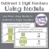 Digital Subtract 2 Digit Numbers Using Models