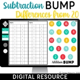 Digital Subtraction Bump Games | Dice Games | Distance Lea