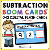 Subtraction Boom Cards