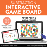 Digital Subtraction Math Game for Distance Learning | Inte