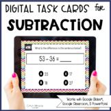 Digital Subtraction Task Cards
