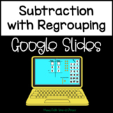 Digital Subtraction with Regrouping Using Models for Googl