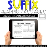 Digital Suffix Reading Passages for Distance Learning