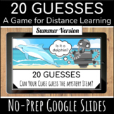 Summer School Game | Digital End of the Year Activities