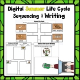 Digital Summer Life Cycle Sequencing and Writing