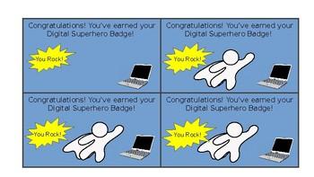 Digital Superhero Badge (K-5)