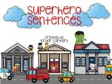 Digital Superhero Sentences