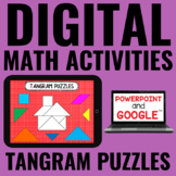 Digital Tangram Puzzles for Guided Math - for Google Drive™