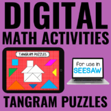 Digital Guided Math Activities | Tangram Puzzles | Distanc