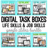 Digital Task Boxes - Life & Job Skills - Google Slides Drag & Drop Bundle