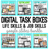 Digital Task Boxes - Life & Job Skills - Google Slides Dra