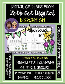 INTERACTIVE Digital Task Card Center: 1 Game with 4 Ways to Play - DIGRAPH SH